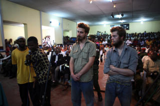 �YENVITNENE: Gina Kepo Aila og Kasimu Aradjabo har begge forklart i retten at Tjostolv Moland skj�t sj�f�ren Abedi Kasongo. Foto: Vegar K. Vatn / SCANPIX