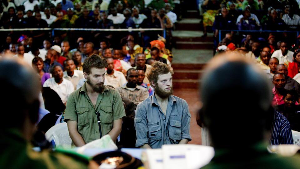 PROSEDYRER I DAG: Tjostolv Moland og Joshua French skal h�re p� erstatningskravene mot dem i dag. Foto: ESPEN R�ST/DAGBLADET