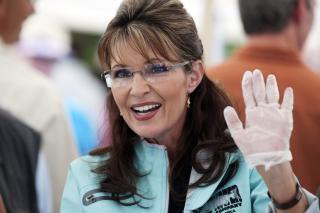 IKKE FORBILDE: Sarah Palin er ikke blant Hannekamhaugs politiske forbilder. Foto:   REUTERS/Nathaniel Wilder/Scanpix