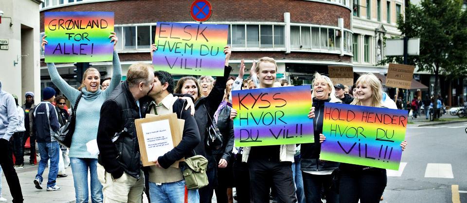 Sendte ut klare signaler om at her i landet kan homofile ferdes fritt. thumbnail