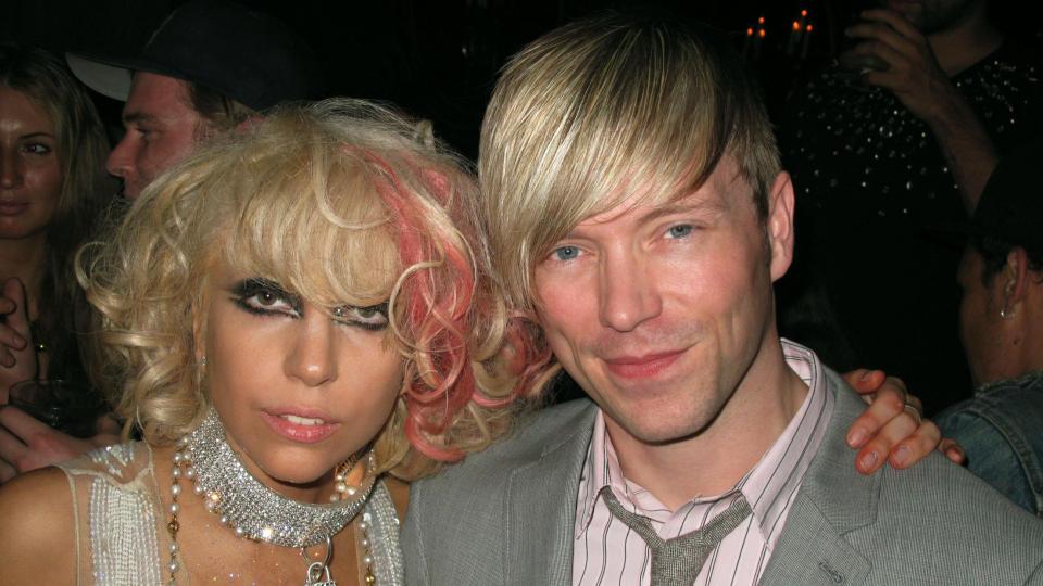 P� NACHSPIEL: Lady Gaga og hennes norske musikkvideoregiss�r Ray Kay (31) p� nattklubben Avenue i New York i natt. Foto: RANDI FUGLEHAUG/DAGBLADET
