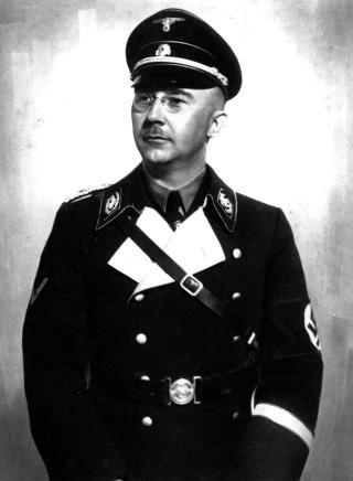FJERNE J�DER FRA EUROPA:  Henrich Himmler, leder for SS, skrev i 1940 at han �nsket � fjerne hele j�dedommen og plassere alle j�der i Afrika. AP Photo