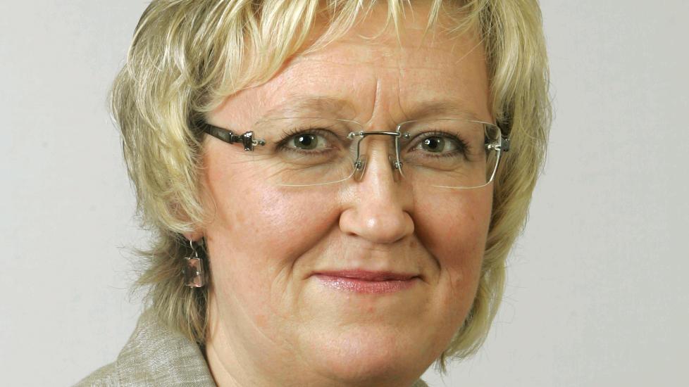 STERKT KRITISK:  Elisabeth Aspaker (H) sp�r om PST burde hatt en annen sjef. Foto: Knut Falch/ Scanpix