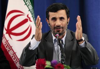 M�TER SIKKERHETSR�DET: Irans president Mahmoud Ahmadinejad. Foto: REUTERS/Lucas Jackson/Scanpix