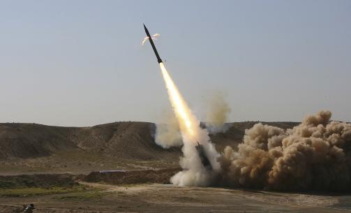TESTRAKETTER: Iran skj�t forrige helg opp flere testraketter som angivelig skal n� til Israel. Foto: REUTERS/Fars News/Ali Shayegan/Scanpix