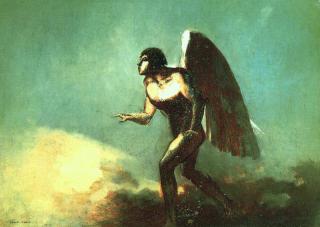 FALLEN ENGEL: Djevelen var lysets engel, men ble til en fallen engel. Disse englene har ofte sex med mennesker. Foto: WIKIMEDIA
