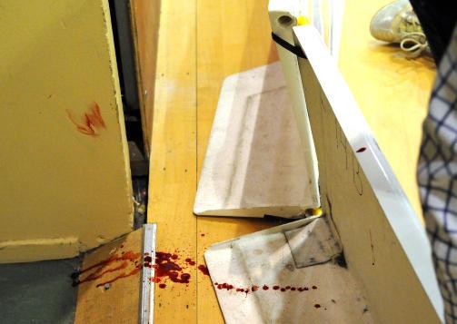 LIVSFARLIG: Murkanten Anders R�nnkvist kolliderte med st�r farlig n�r banen.Foto: �yvind Askevold Kaarb�, Harstad Tidende