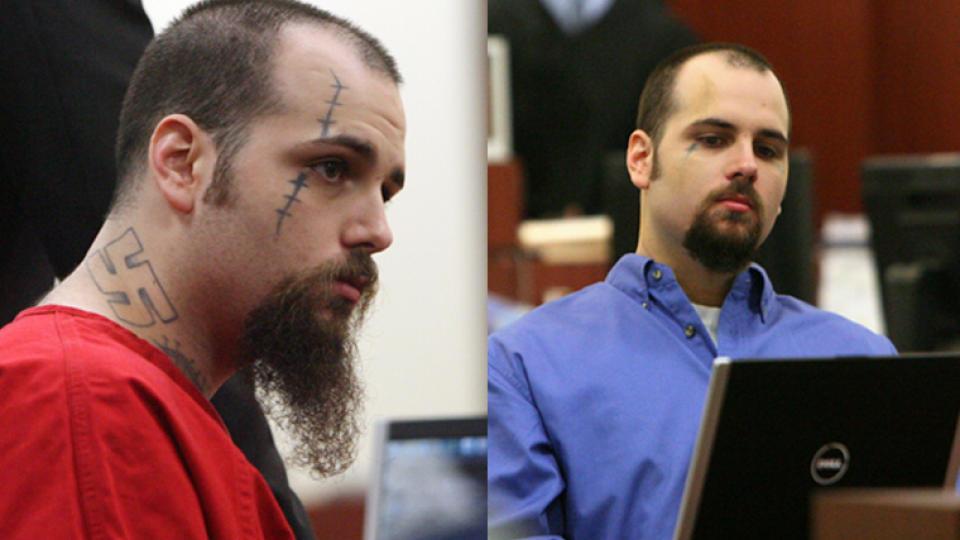 nazi tattoos. John Allen Ditullio#39;s Nazi tattoosdxfdfbd