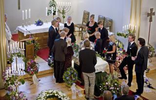 Harald Heide Steen jr begravelse