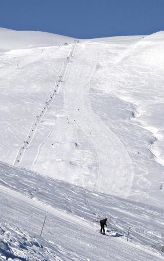 FLOTT: Myrkdalen på Voss har lange løyper og rikelig med off-pist muligheter. Foto: Ole C- H. Thomassen