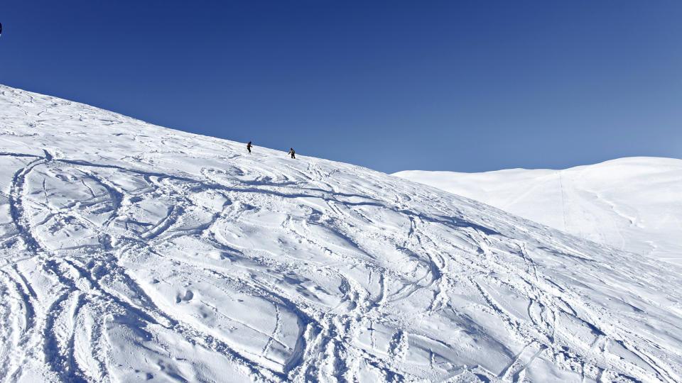 SNØRIKT: Voss Fjellandsby Myrkdalen, toppet snødybdestatistikken det meste av fjorårets sesong.   FOTO: Ole C. H. Thomassen