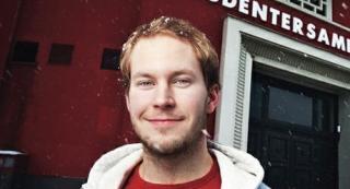 KJENNER IKKE KVINNEN: Leder av Studentsamfunnet i Trondheim, Leiv-Erik �degaard, vet ikke hvem den avd�de 29-�ringen er. FOTO: Privat