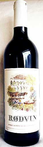 Folkets vin: «Rødvin».