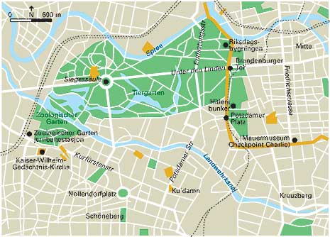 Øst berlin kart