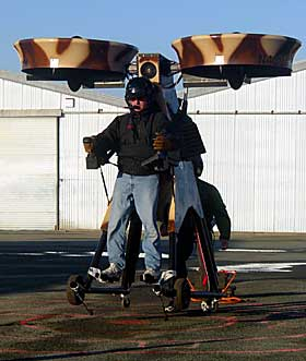 OPTIMISME: Springtail fra Trek AeroSpace kan bli et reelt alternativ ogs� for privatpersoner. Foto: www.trekaerospace.com