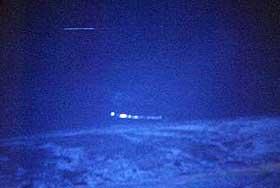 UFO-RKLARLIG: Her er noen av de mange mystiske, lysende gjenstandene som har fløyet over Hessdalen de siste årene.