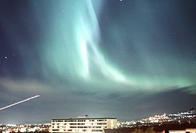 Nordlys: Kanskje f�r vi se et fantastisk nordlys som f�lge av solutbruddet.