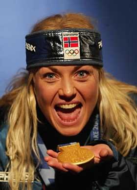 1. plass: Kari Traa