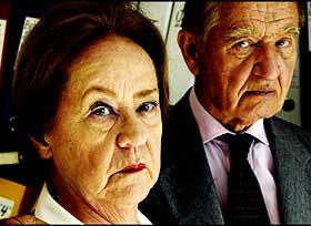 ØDELAGT LIV: - Uretten har ødelagt oss, sier Amalie og Einar Riis.