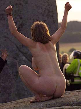 naken kvinne stjørdalshalsen