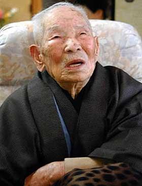 Japansk mann å vite