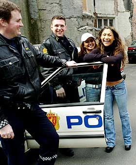 Opptakskrav politi høyde