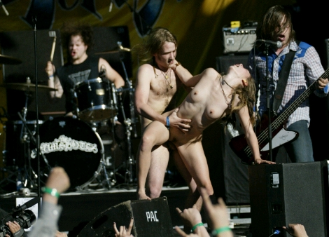 The cumshots band sex on stage images 667