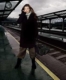 NY STIL: Nathalie Nordnes hopper p� poptoget - med bossa, taffel, jazz, country og easy listening i bagasjen.