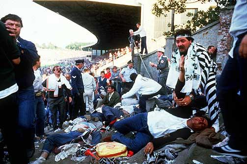 KAOS OG D�D: Det er 20 �r siden Juventus og Liverpool m�tte hverandre p� Heysel i Belgia. 39 juventussupportere d�de