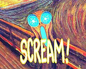 UTLØSTE RAMASKRIK: Munchs Skrik har utløst ramaskrik siden det ble laget. Nå sist var det tyveriet fra Munchmuseet som var årsaken.