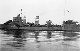 STORE PLANER: Trondheim skulle bli Det tredje rikets st�rste marinebase. Ettersom tyskernes krigslykke snudde og tyske krigsskip ble senket, ble planene sakte tiet ihjel. Bildet viser en jager i Trondheims havn.