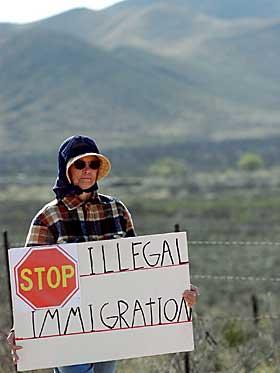 ulovlig innvandring fra mexico til usa