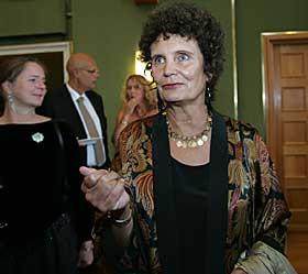 ÆRESPRISEN: Den kanskje aller gjeveste prisen, juryens ærespris, gikk til regissør Anja Breien.