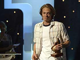 BESTE MANNLIGE SKUESPILLER: Kristoffer Joner for hovedrollen i �Naboer�.