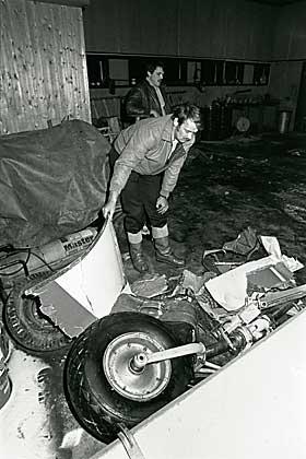 GRANSKING: Mehamn-ulykken har blitt gransket fire ganger. Hver gang har konklusjonen v�rt den samme - at de ekstreme turbulens- og vindforholdene f�rte til at flyet styrtet.