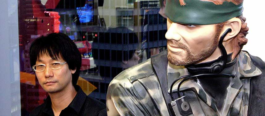 MANNEN BAK: Dagbladet.no m�tte skaperen av �Metal Gear�-spillene, Hideo Kojima, i Konamis hovedkontorer i Tokyo.