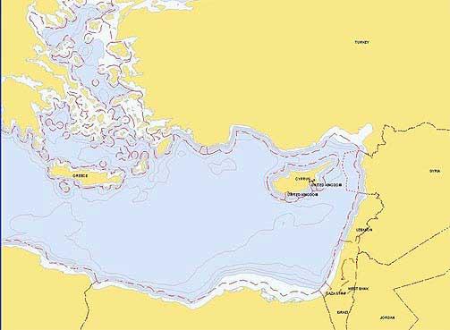 PATRULJER: Her utførte det norske ubåten sine operasjoner. Base hadde de i Tyrkia.