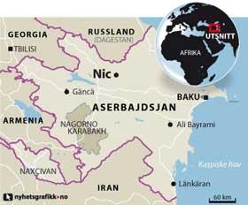 aserbajdsjan kart Aserbajadsjan (reiseland) aserbajdsjan kart