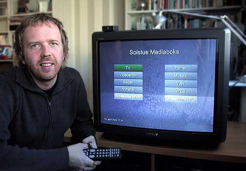 GULLBLOGGER: Eirik Solheims blogg vant teknoklassen i Gullbloggen.