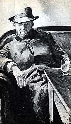 HANS J�GER: Fikk 60 dagers fengsel for blasfemi i 1886.
