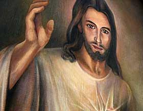 JESUS: Kristensdommen er blitt harselert med i �revis. � avbilde Jesus er imidlertid helt greit i kristendommen, mens det er mer omstridt med avbildninger i islam.