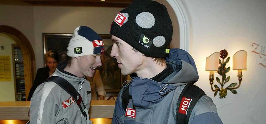 SKUFFET: Tommy Ingebrigtsen (t.v.) og Sigurd Pettersen overbeviste på ingen måte i dag. Det burde de ha gjort med tanke på å sikre seg OL-billett.