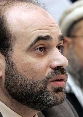 MED I DELEGASJONEN: Leder Mohammed Hamdan i Islamsk r�d.