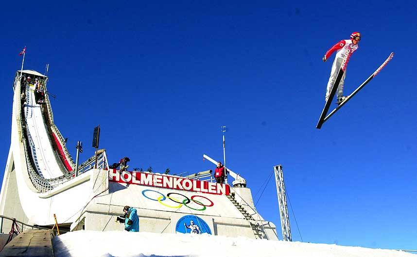 TRENGER FORNYELSE: Uten en ny Holmenkollenbakke kan vi si farvel til b�de ski-VM og Holmenkollenrennet, mener skipresidenten.
