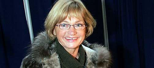H�YREDREINING I alle de skandinaviske landene g�r h�yresiden frem. Dansk Folkepartis leder Pia Kj�rsgaard er en av politikerne som f�r �kt oppslutning.
