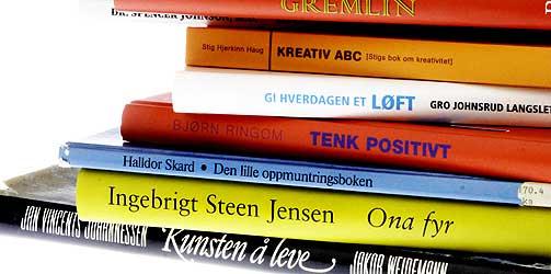 ORD PÅ ORD: Aldri har det vært flere bøker som vil hjelp deg på veien til et bedre liv. Carpe diem...