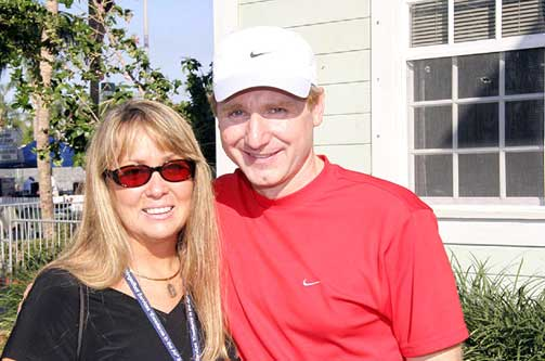 Dan Brown with beautiful, Wife Blythe Newlon