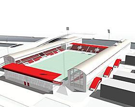FREDRIKSTAD: Klubben bygger ny stadion på Kråkerøy, i et industriområde.