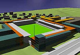 HAM-KAM: Dette er et utkast over hvordan nye Briskeby kan bli seende ut.