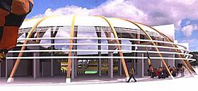 START: Byggingen av Starts nye hjemmebane er i gang.